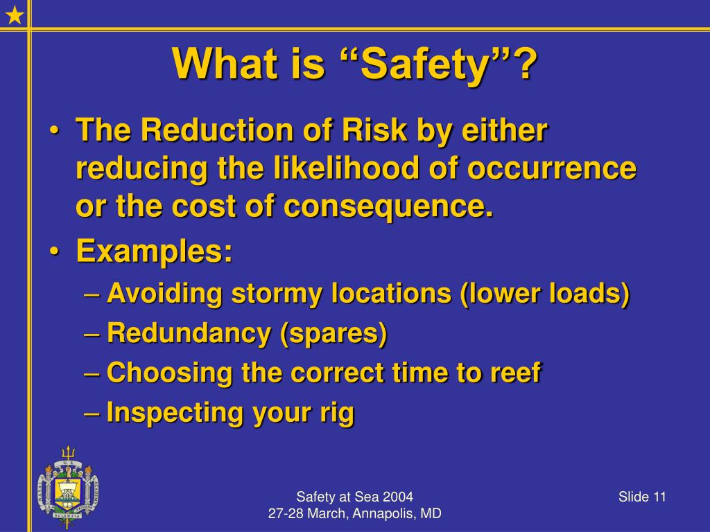 """What is """"Safety""""?"""