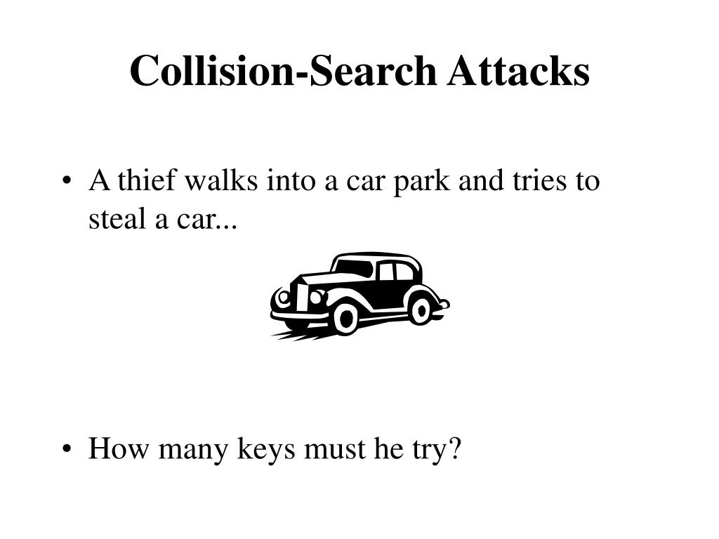 Collision-Search Attacks