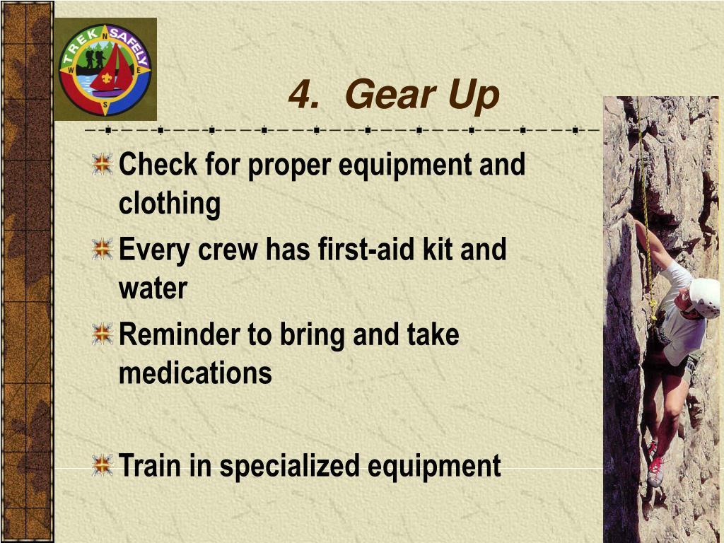4.  Gear Up