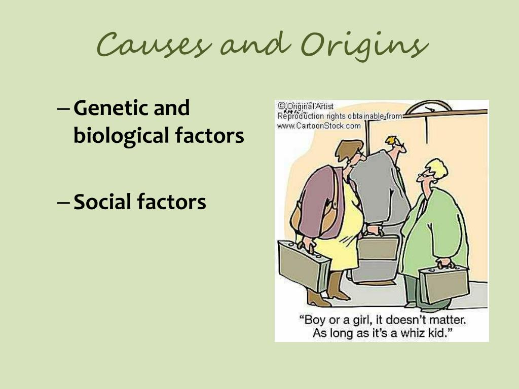 Causes and Origins