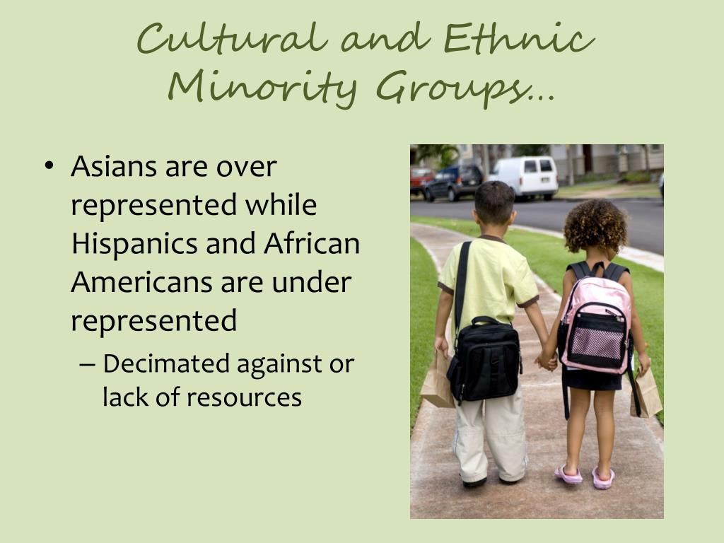 Cultural and Ethnic Minority