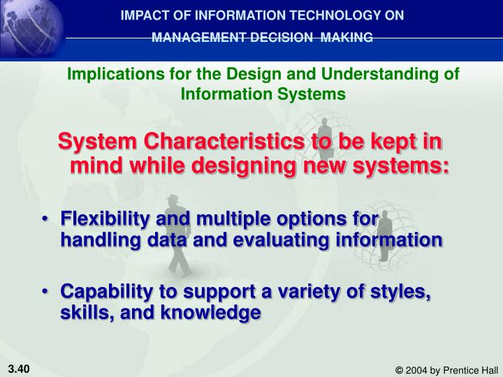 information technology mianagement information systems knowledge