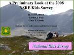 national kids survey