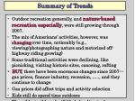 summary of trends1