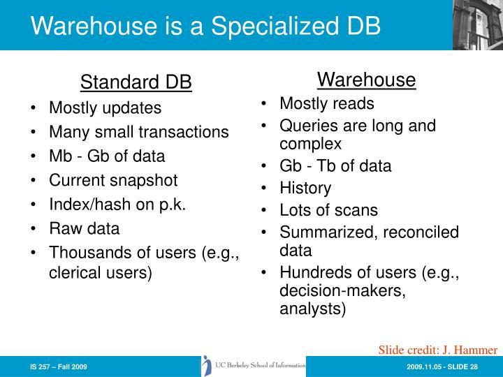 Standard DB