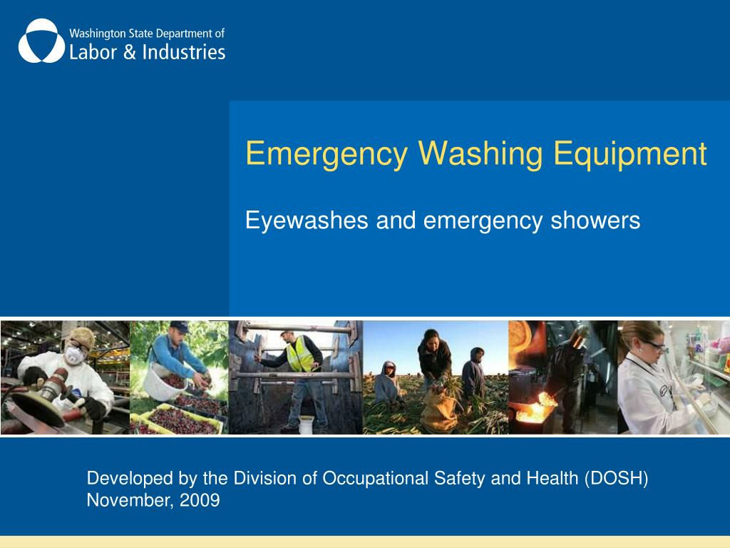 emergency washing equipment l.
