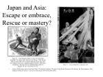 japan and asia escape or embrace rescue or mastery