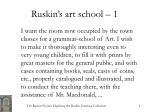 ruskin s art school 1