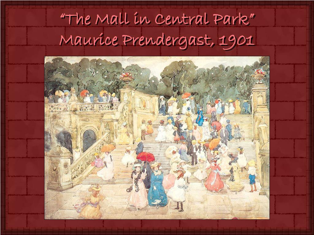 """The Mall in Central Park"""