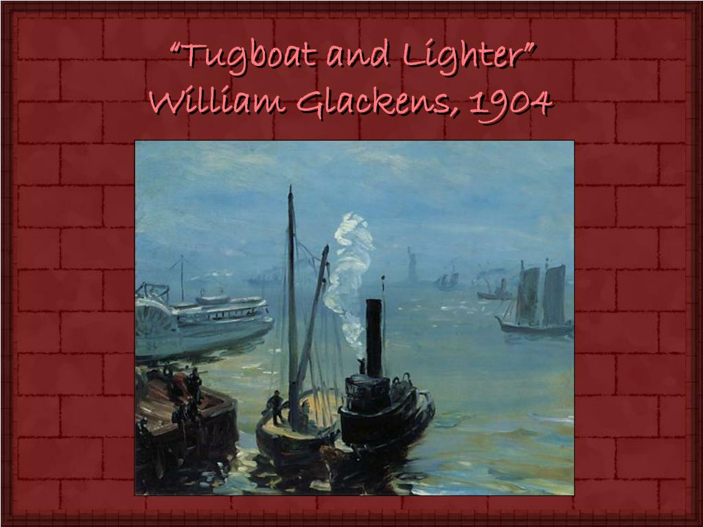 """Tugboat and Lighter"""
