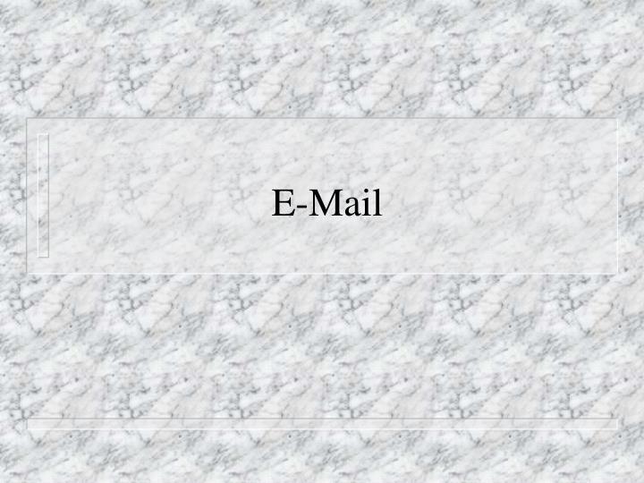 e mail n.
