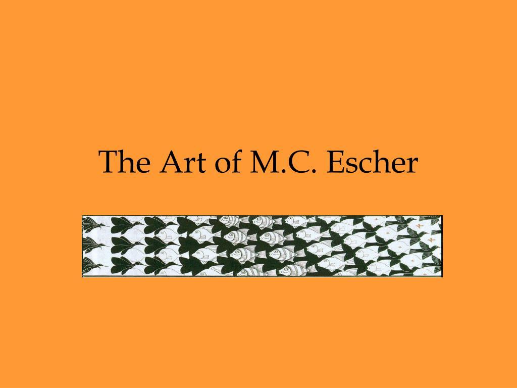 the art of m c escher