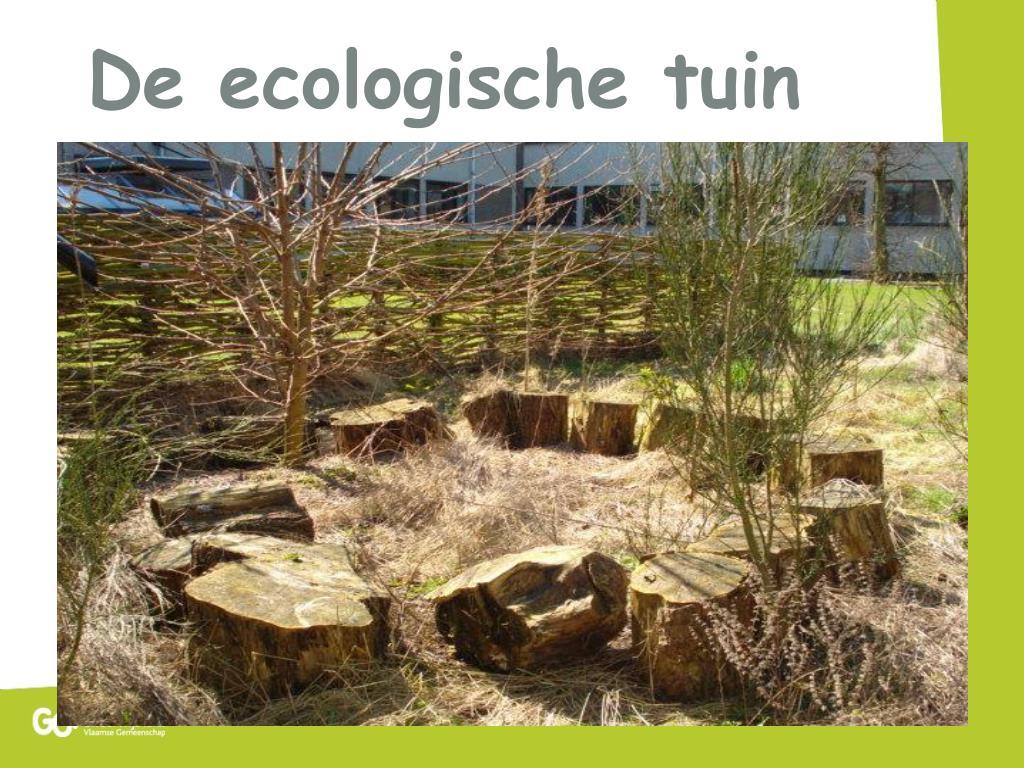 De ecologische tuin