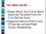 tie breakers 2