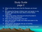 study guide page 2