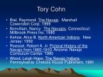 tory cohn