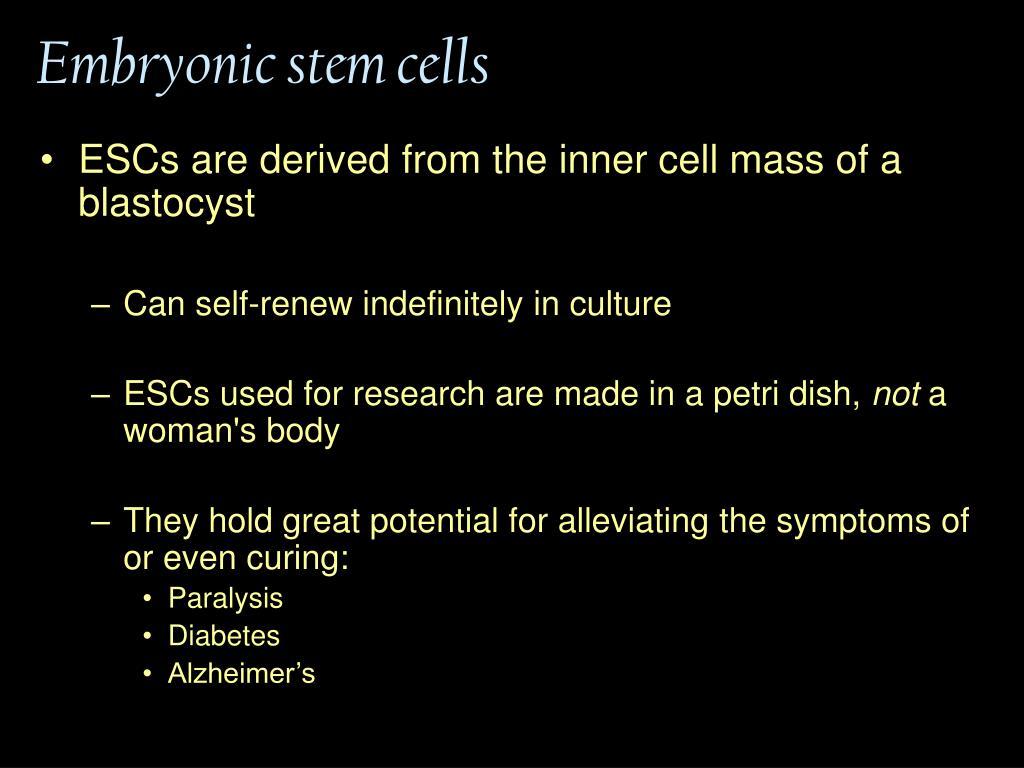 Embryonic stem cells
