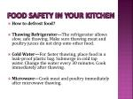 food safety in your kitchen14
