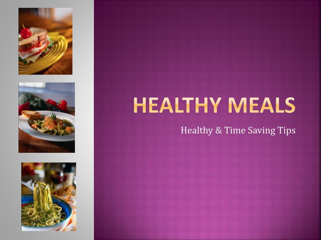 healthy meals l.