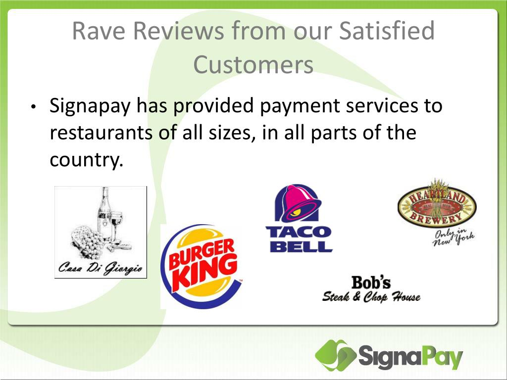 Rave Reviews from our Satisfied Customers