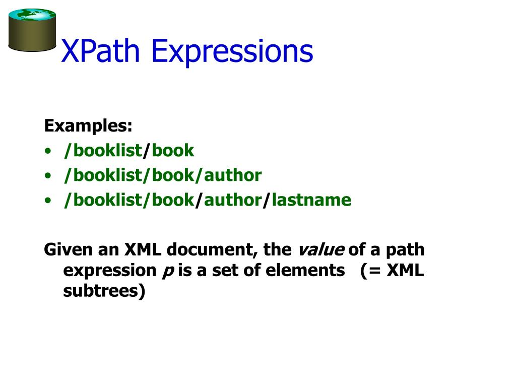 XPath Expressions