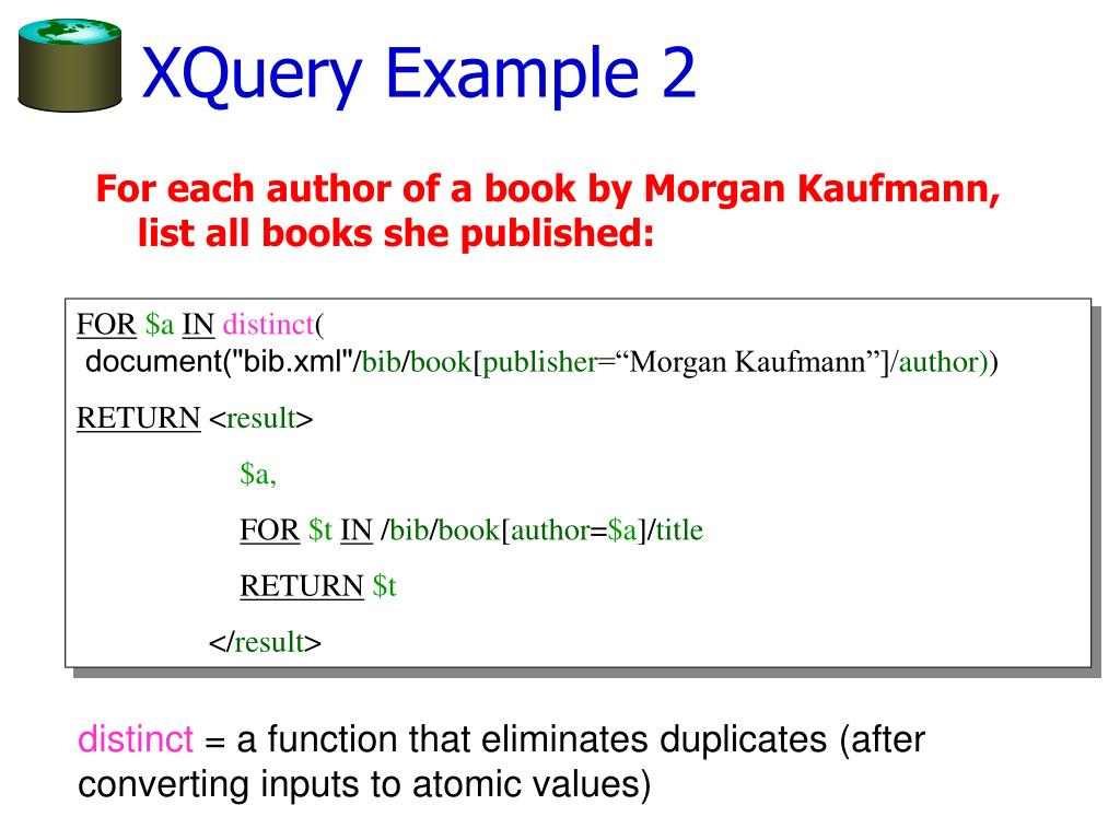 XQuery Example 2