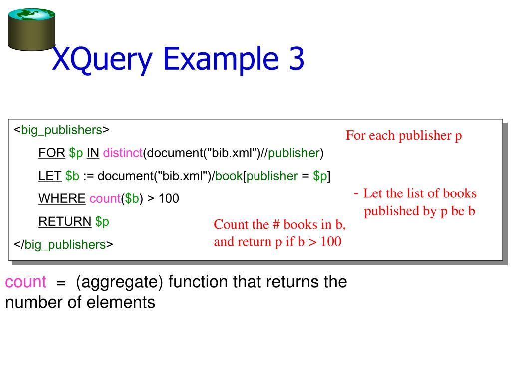 XQuery Example 3