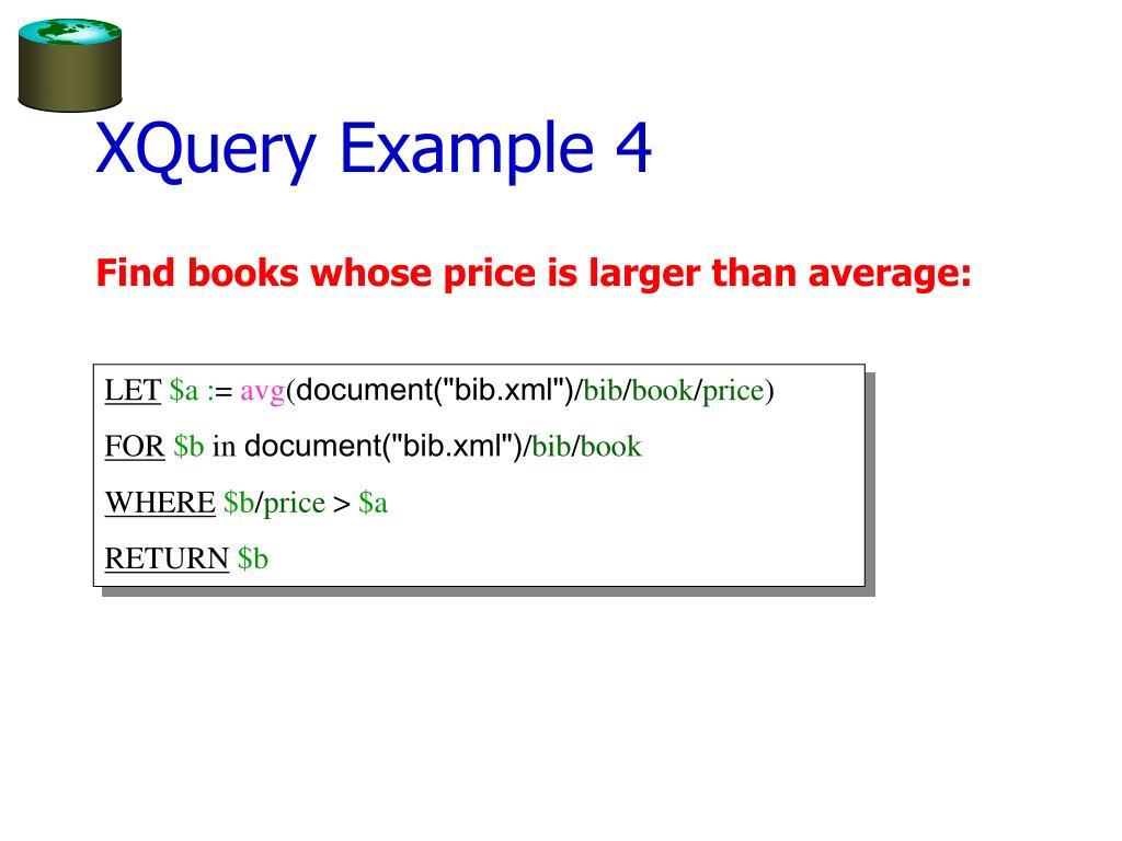 XQuery Example 4