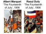 albert marquet the fourteenth of july 1906