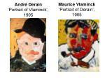 andr derain portrait of vlaminck 1905