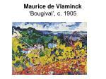 maurice de vlaminck bougival c 1905