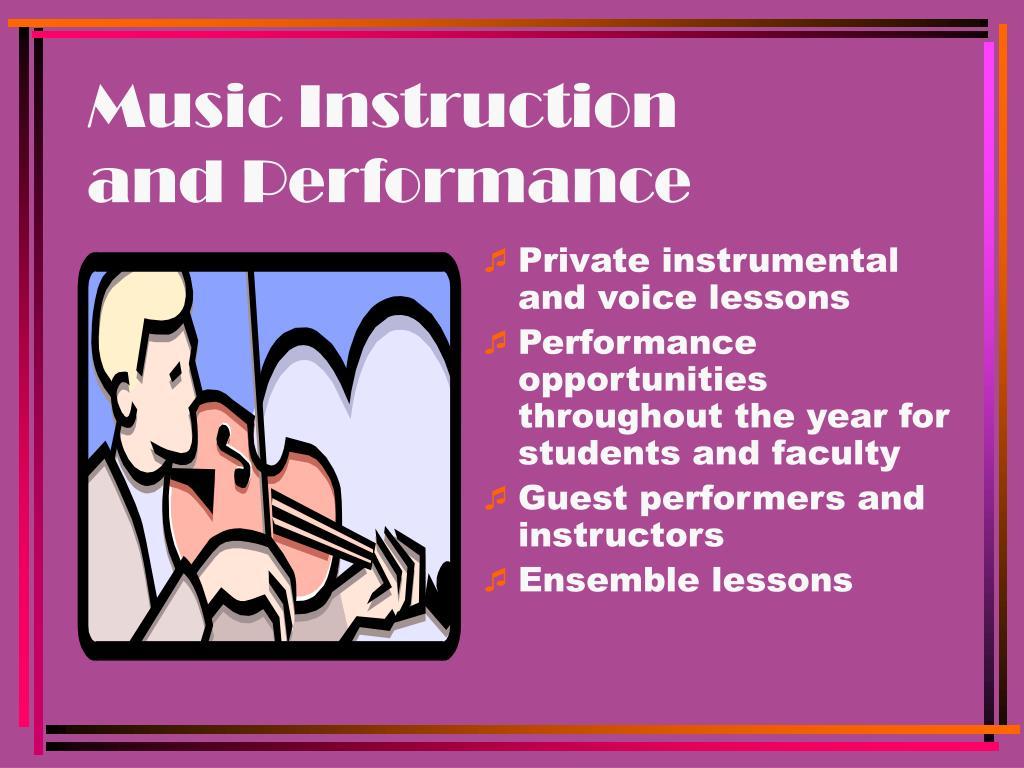 Music Instruction