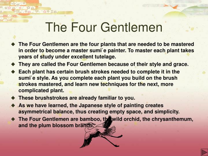 The four gentlemen3