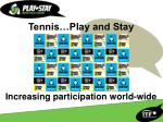 tennis play and stay