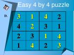 easy 4 by 4 puzzle9