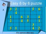easy 6 by 6 puzzle20