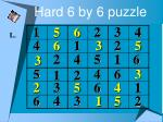 hard 6 by 6 puzzle25