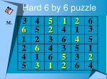 hard 6 by 6 puzzle27