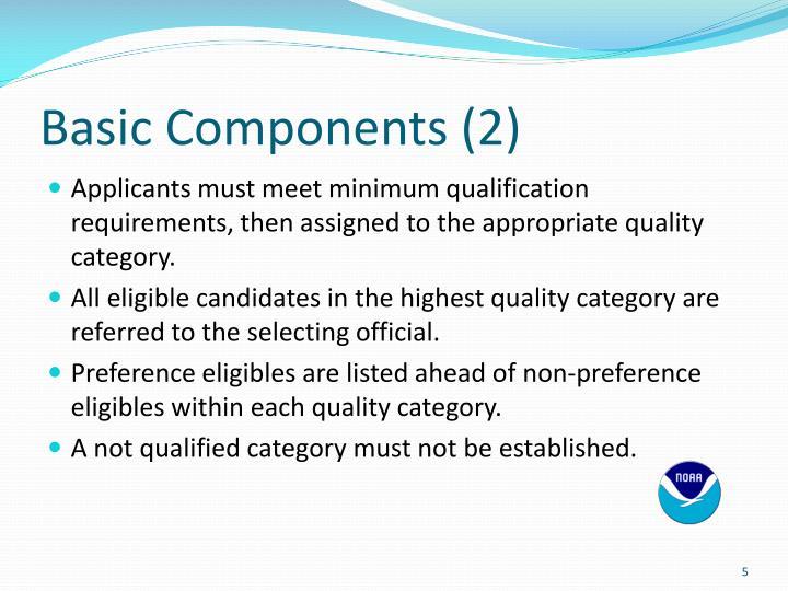 Basic Components (2)