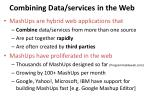 combining data services in the web