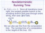 nondeterministic running time2