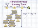 nondeterministic running time3