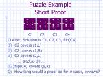 puzzle example short proof1