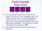 puzzle example short proof2