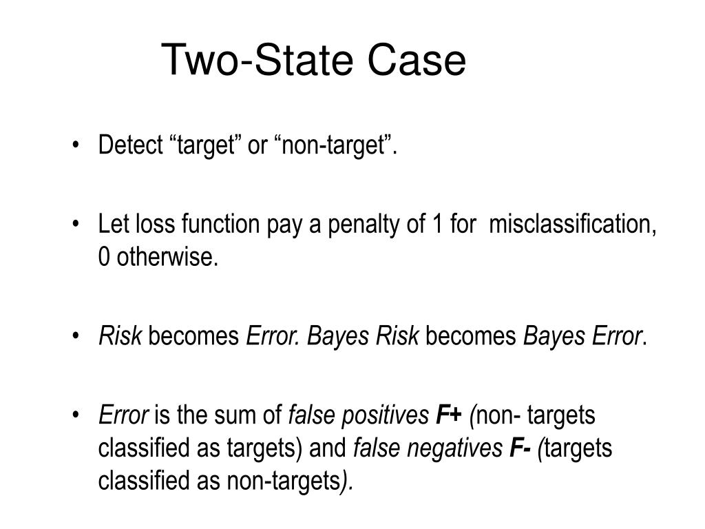 Two-State Case