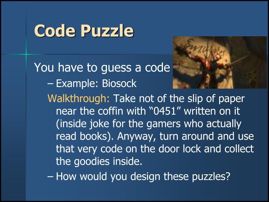 Code Puzzle