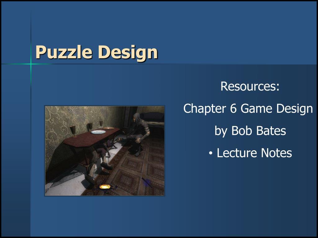 puzzle design l.
