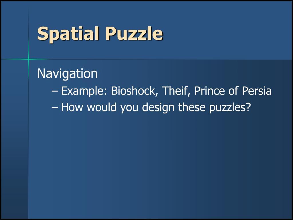 Spatial Puzzle