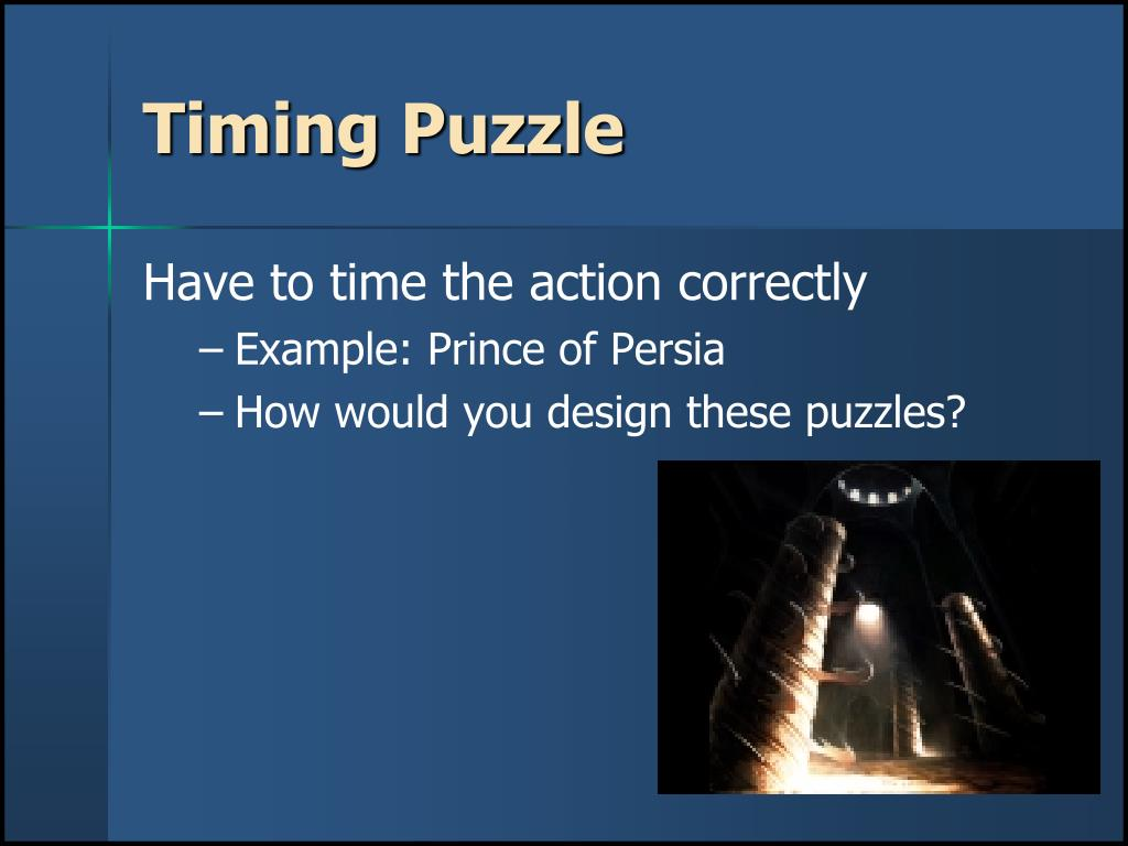 Timing Puzzle