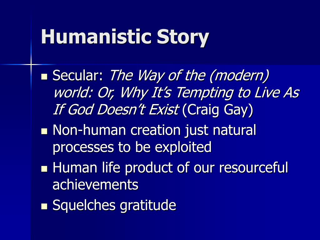 Humanistic Story